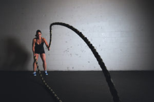 strength training with ropes
